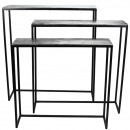 grossiste Meubles: Table en métal simple , 3 pièces, ...